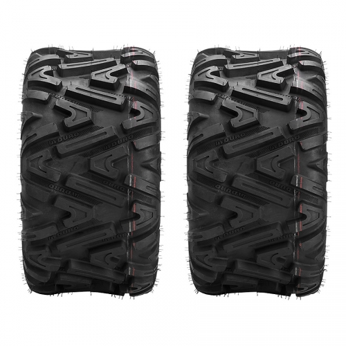 2x Quad ATV Reifen 27x11-12 56N 6PR Duro Power Grip II DI-2038