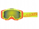 JUST1 Iris Neon Crossbrille in der Farbe gelb, orange