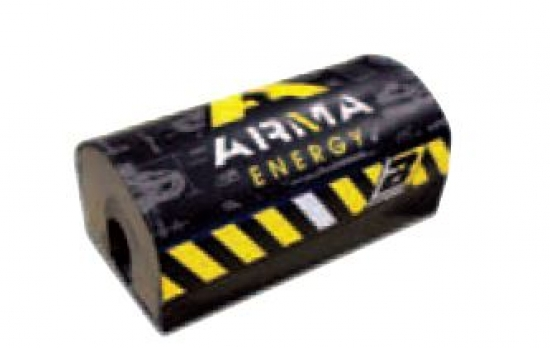 Blackbird Arma Energy Lenker Polster Fat-Bar schwarz / gelb