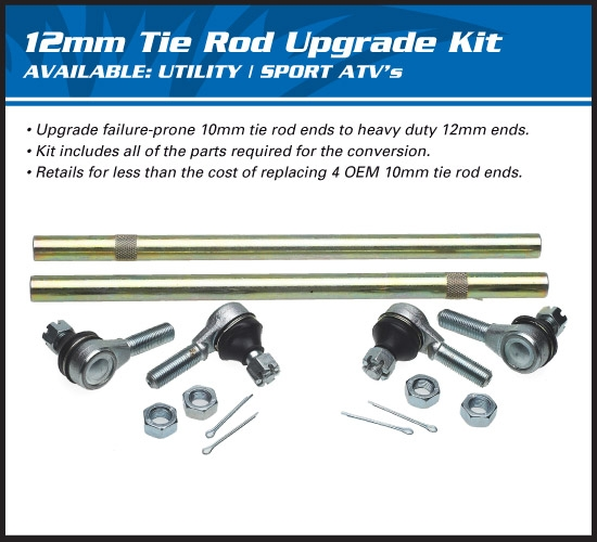 AllBalls Spurstangen Upgrade Kit  Tie Rod Upgrade Kit passend f. siehe DropDown Auswahl