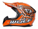 Wulfsport Kinder Cross Helm Flite-Xtra S (47-48cm) Orange Motorrad Quad Bike Enduro MX BMX Helm
