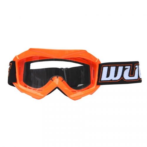 Wulfsport Kinder Cross / Schutz Brille Typ Tech Farbe orange - Cub Tech Goggles